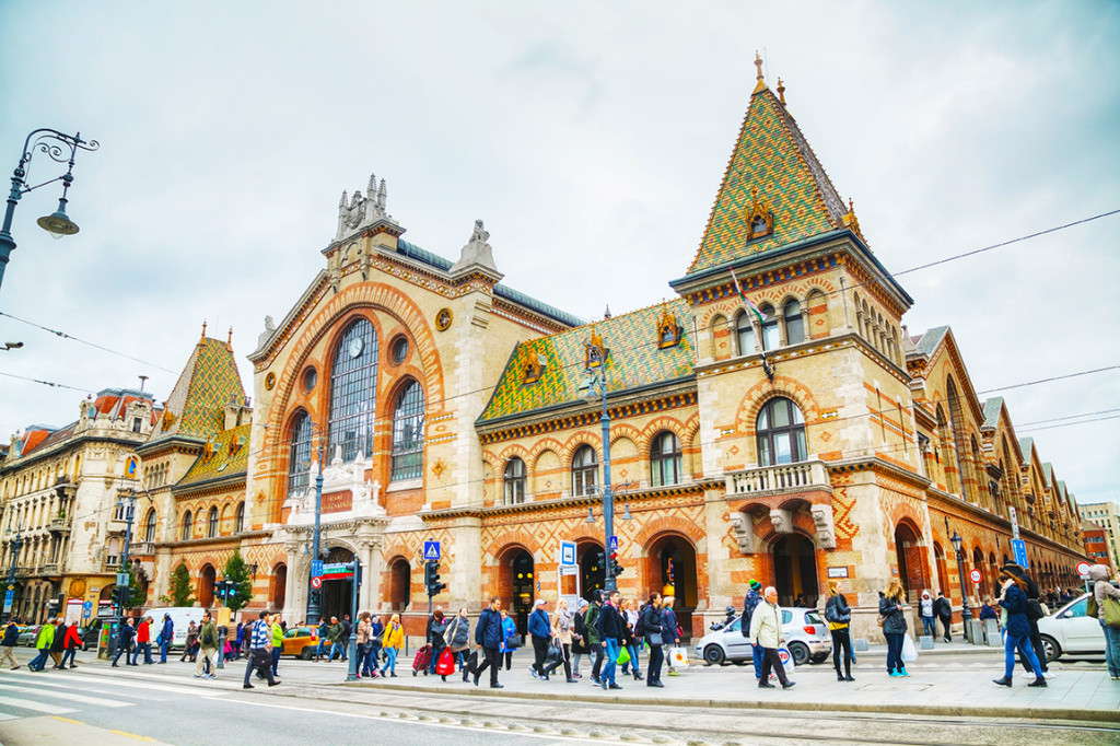 Great Market Hall in Budapest