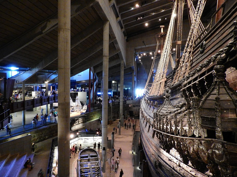 Interior do Museu Vasa