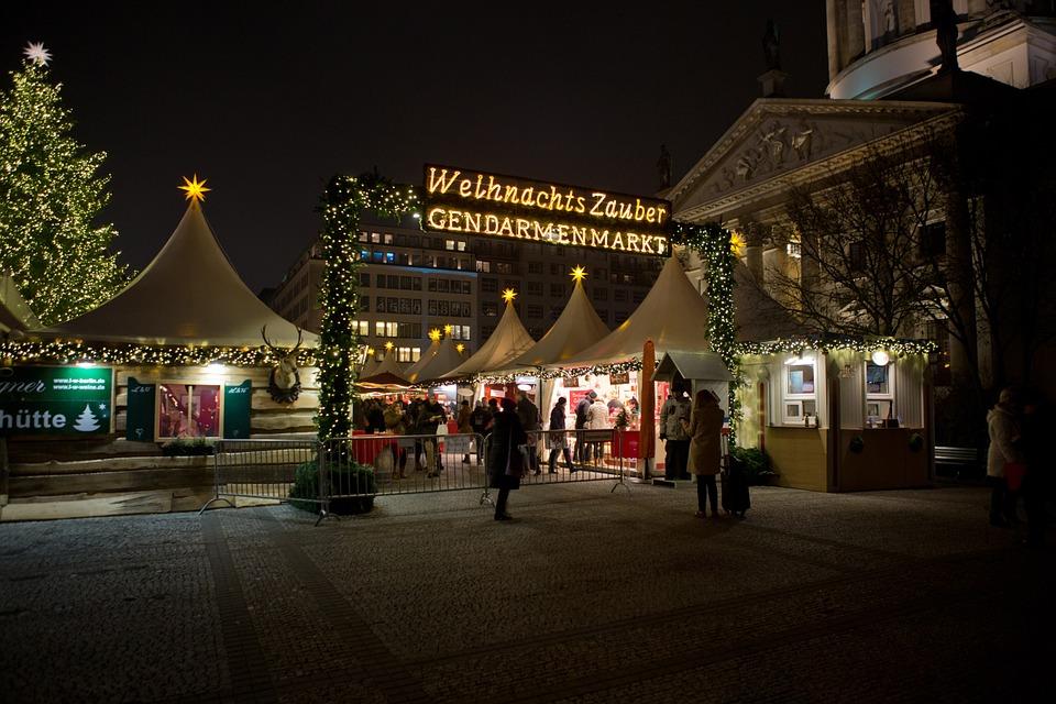 Mercado de Natal em Gendarmenmarkt