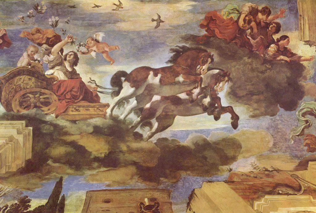 Os gregos acreditavam que as luzes eram a deusa Aurora em sua biga colorida indo avisar seus irmãos do novo dia