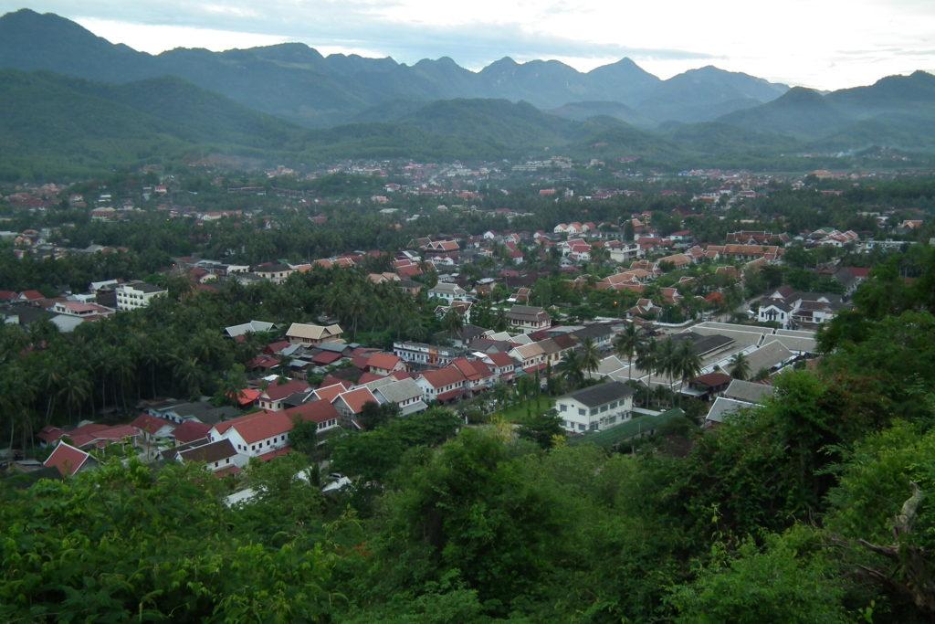 Vista do Monte Phou Si