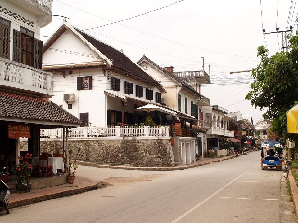 Rua de Luang Prabang