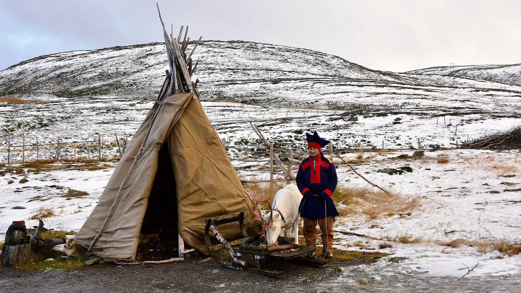 O povo Sami, no norte da Escandinávia, se escondiam em suas casas durante o show de luzes