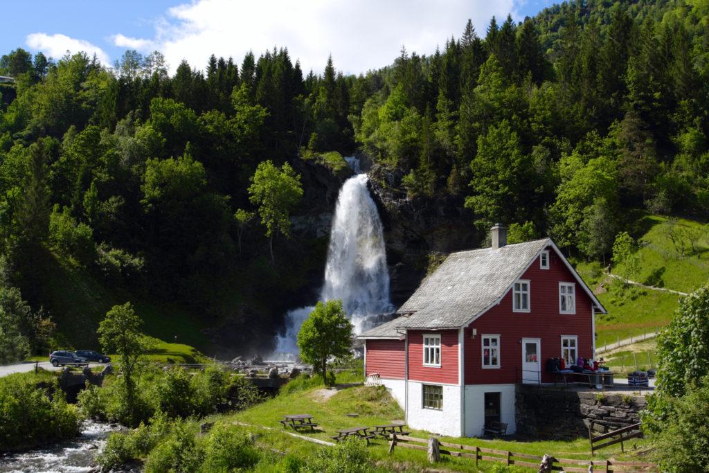 Cascata Steindalsfossen