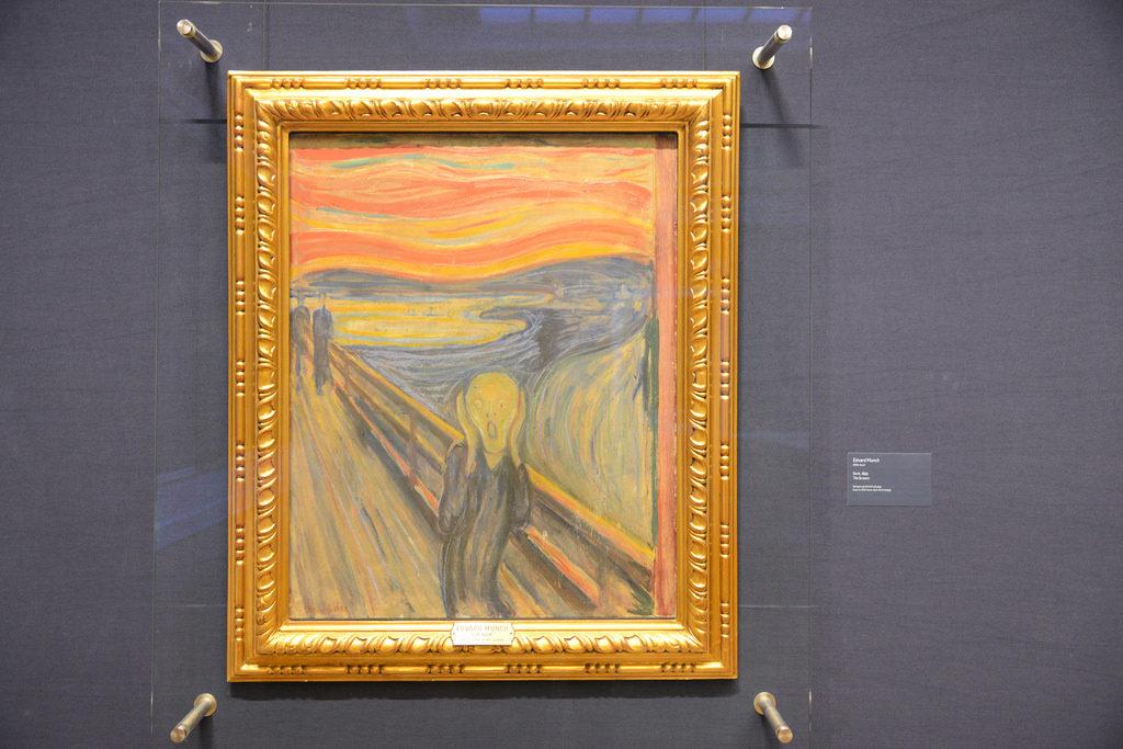 """Quadro """"O Grito"""" de Edvard Munch"""
