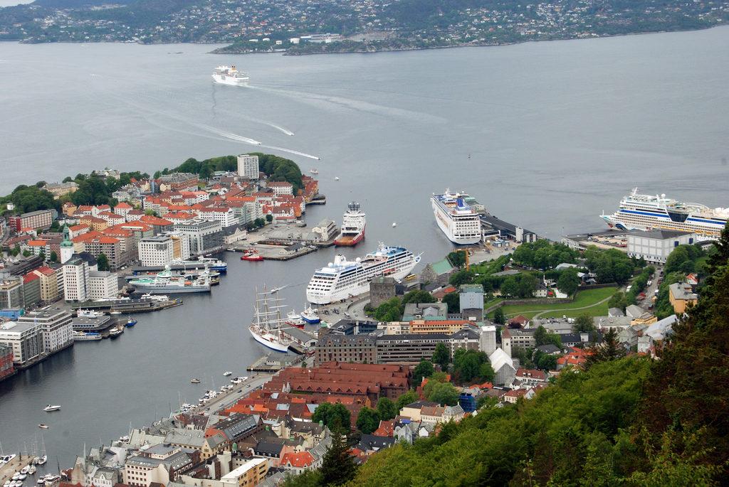 Vista do Fløyfjell