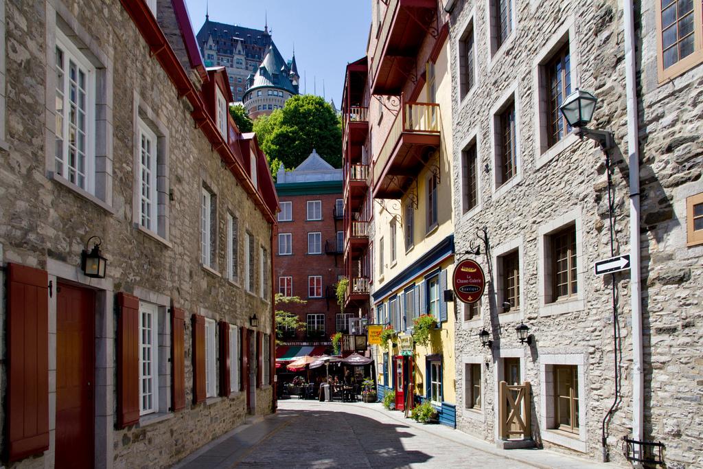 Cidade de Quebec – um pedaço da França na América